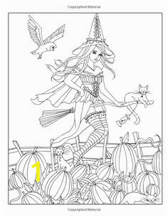 Spellbinding A Fantasy Coloring Book of Witches Volume 1 Nikki Burnette Amazon Books