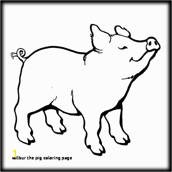 20 Wilbur the Pig Coloring Page