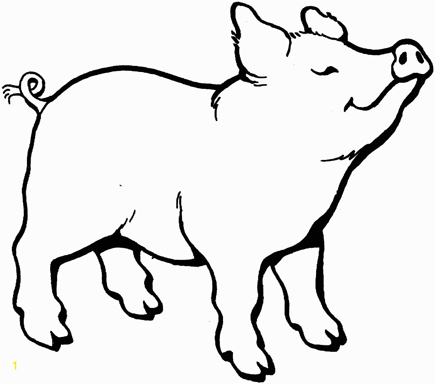 pig smells something coloring page 1500—1323