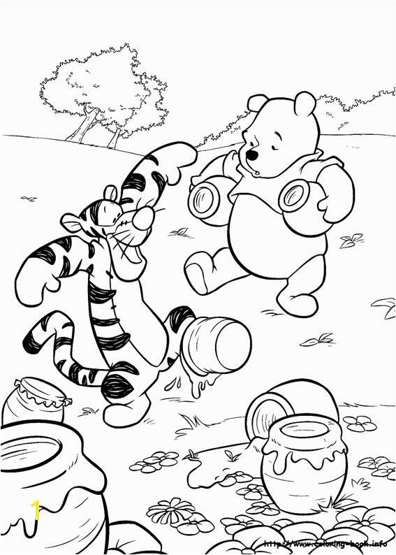 Winnie the Pooh Coloring Pages Online Free Winnie the Pooh Coloring Picture