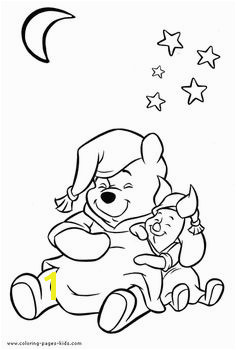 Winnie and Piglet Winnie the Pooh color page disney coloring pages color plate