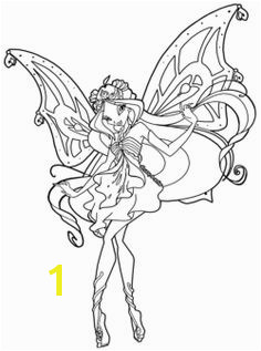 A Smiling Beautiful Winx Club Coloring Pages Cartoon Coloring Pages Coloring Pages For Kids