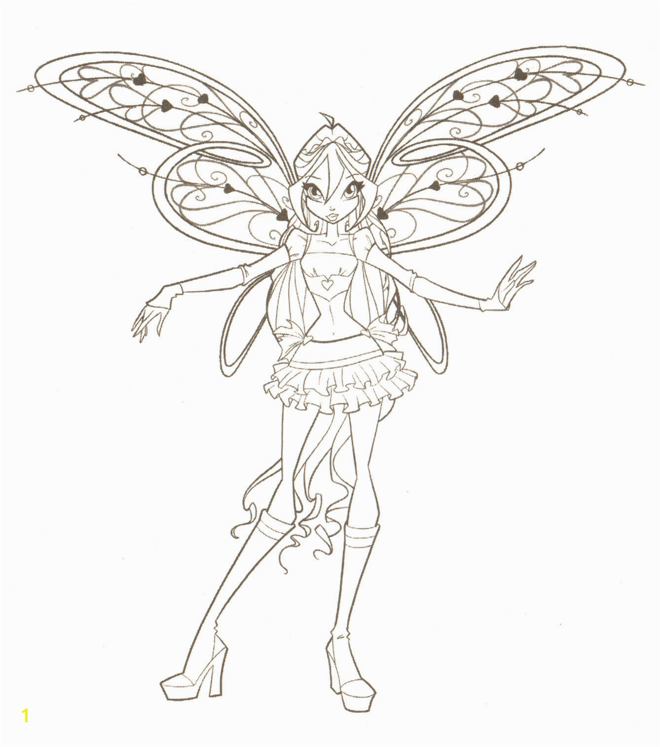Winx Club Coloring Pages Hd Fond D écran and Background Schön Winx Club Ausmalbilder Musa Ausmalbild Bloom Believix