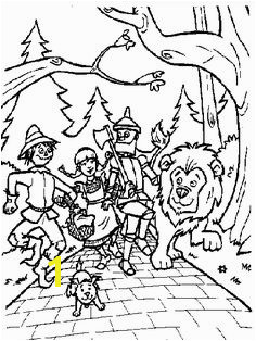 Wizard Oz Coloring Pages To Print Family Coloring Pages Disney Coloring Pages Free