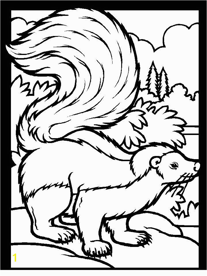 Animals of the wood Coloring pages for adults and teenagers free high quality and divided into categories