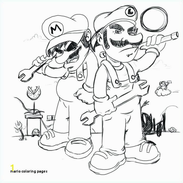 Mario Coloring Page Coloring Pages Mario Fall Coloring Pages 0d Page