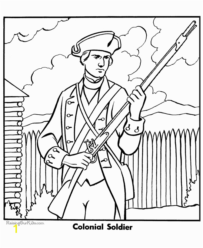 Free Coloring Pages For Army