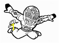 John Cena Coloring Pages Coloring For KidsColoring For Kids Rey Mysterio Costume Wwe Coloring