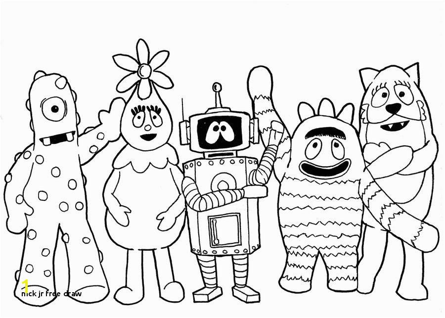 Nick Jr Free Draw Nick Jr Coloring Sheets Coloring Pages
