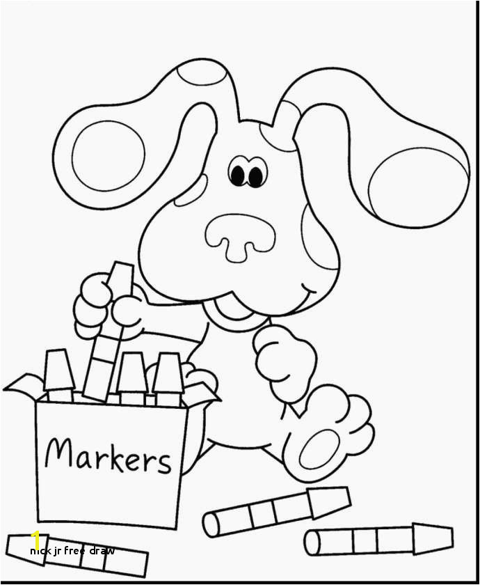 Free Drawing Nick Jr New Awesome Free Kids Coloring Pages Fresh Cool
