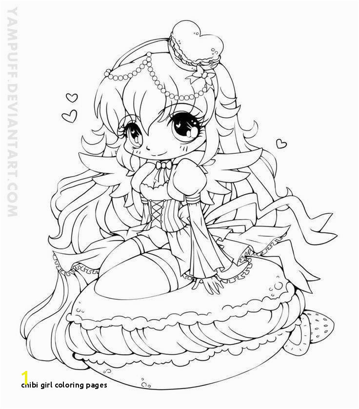 Chibi Girl Coloring Pages Yampuff Food Chibi Girls Coloring Pages Crafts Pinterest Ideas