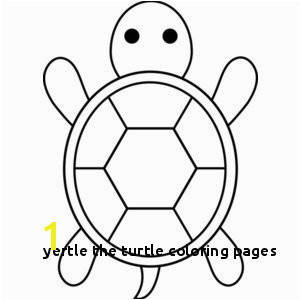 Yertle the Turtle Coloring Pages Monochrome Clipart Turtle Pencil and In Color Monochrome