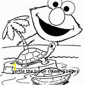 Yertle The Turtle Coloring Pages d by