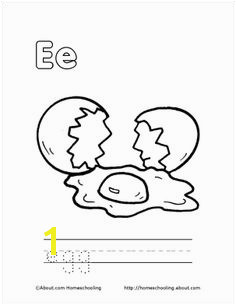 E Printable Preschool Worksheets Printables Letter D Book Letters Egg Coloring Page