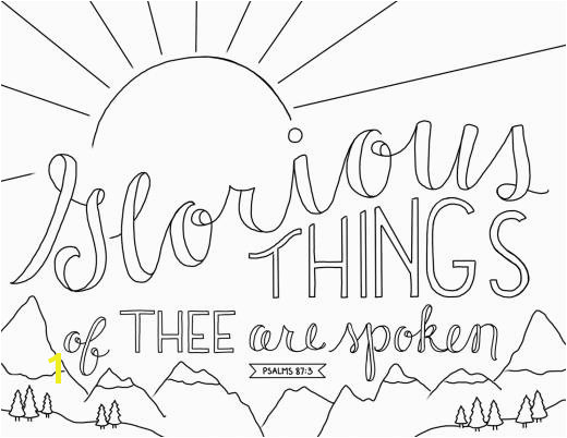 just what i squeeze in Coloring Page 9 Glorious Things of Thee Are Spoken
