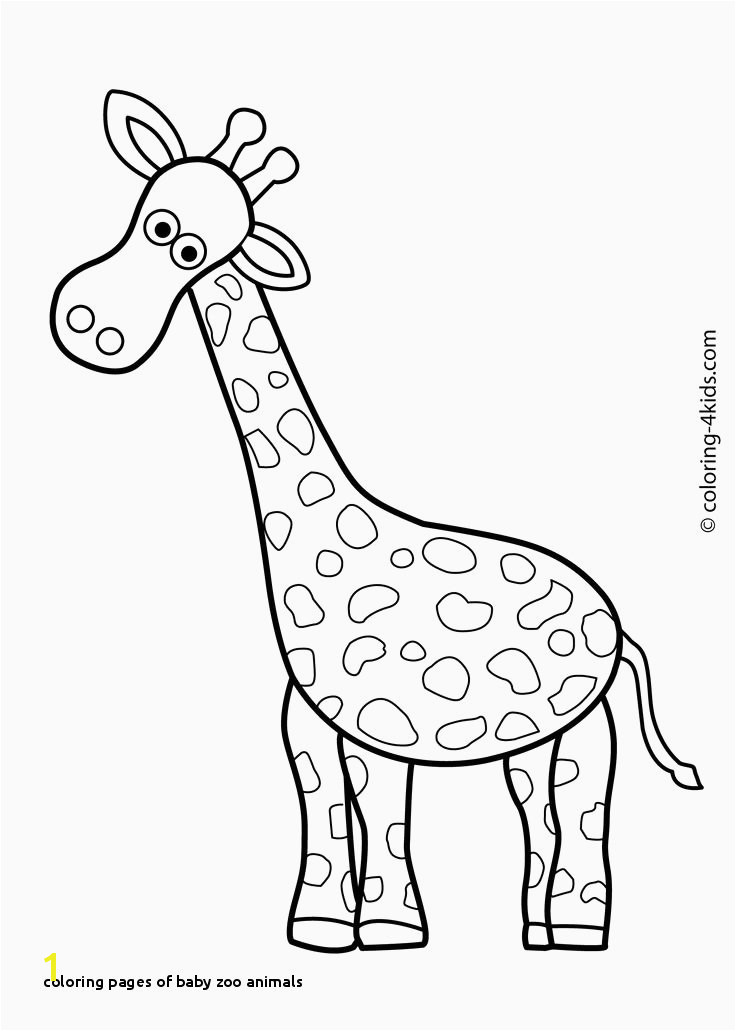 Coloring Pages Baby Zoo Animals Animals I Pinimg 736x Ba 0d 34 Ba0d A207d2e Baby