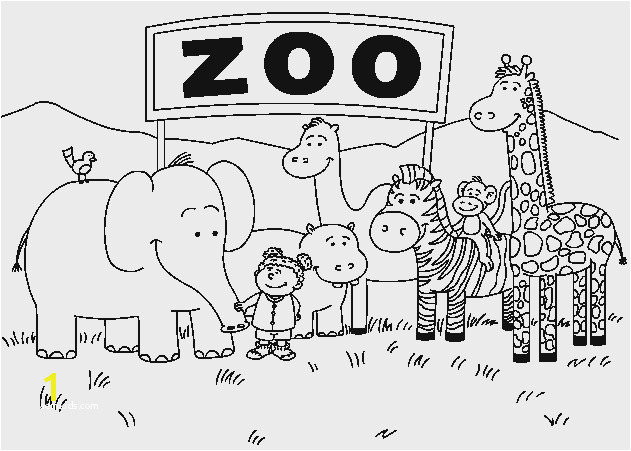 Zoo Coloring Page Terrific 28 Free Zoo Animals Coloring Pages Model Zoo Coloring Pages