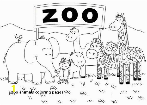 Zoo Animals Coloring Pages Coloring Pages Baby Zoo Animals Unique I Pinimg originals 05 0d