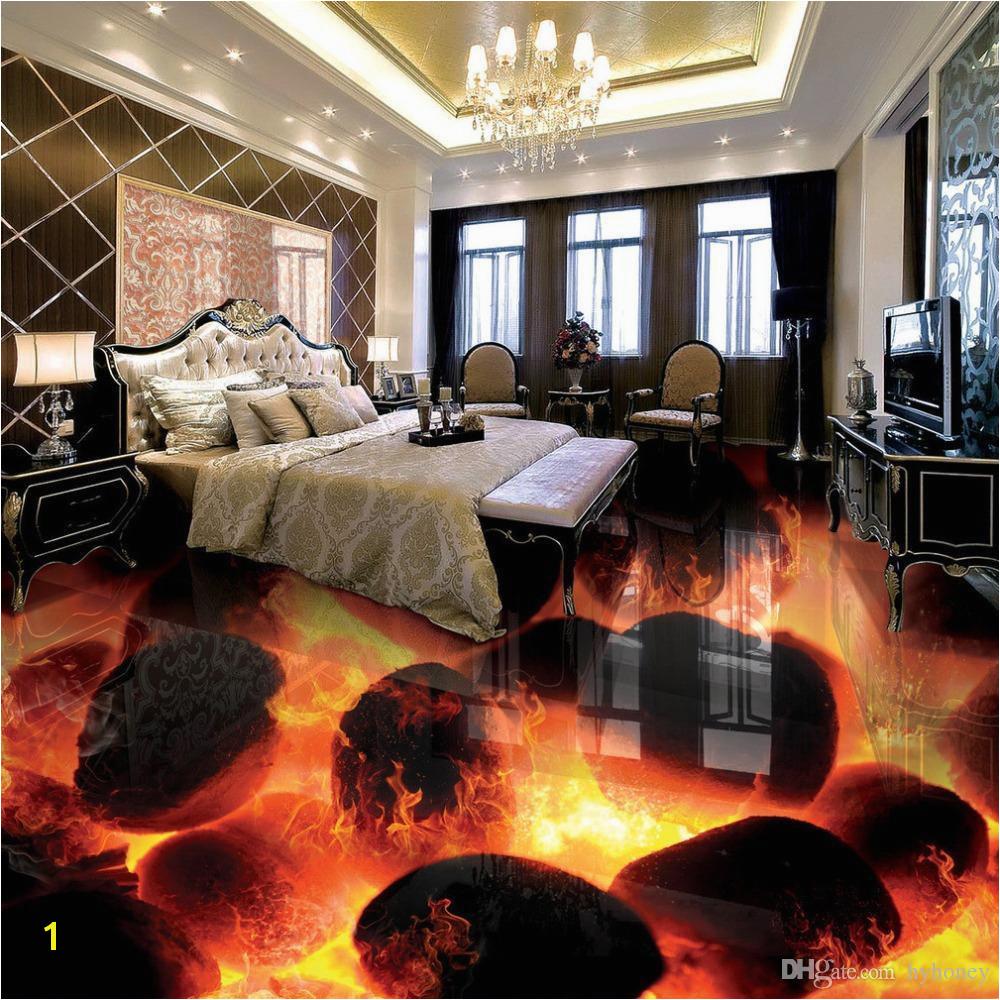 3d Floor Murals for Sale wholesale Custom 3d Flooring Murals 3d Stereo Stones Flame Bedroom