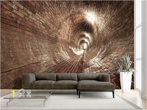 Wallpaper Wall Murals Non Woven 3D Modern Art Optical Illusion Brick Abstract Wall Decals Bedroom Home Design Wall Art Decals 314