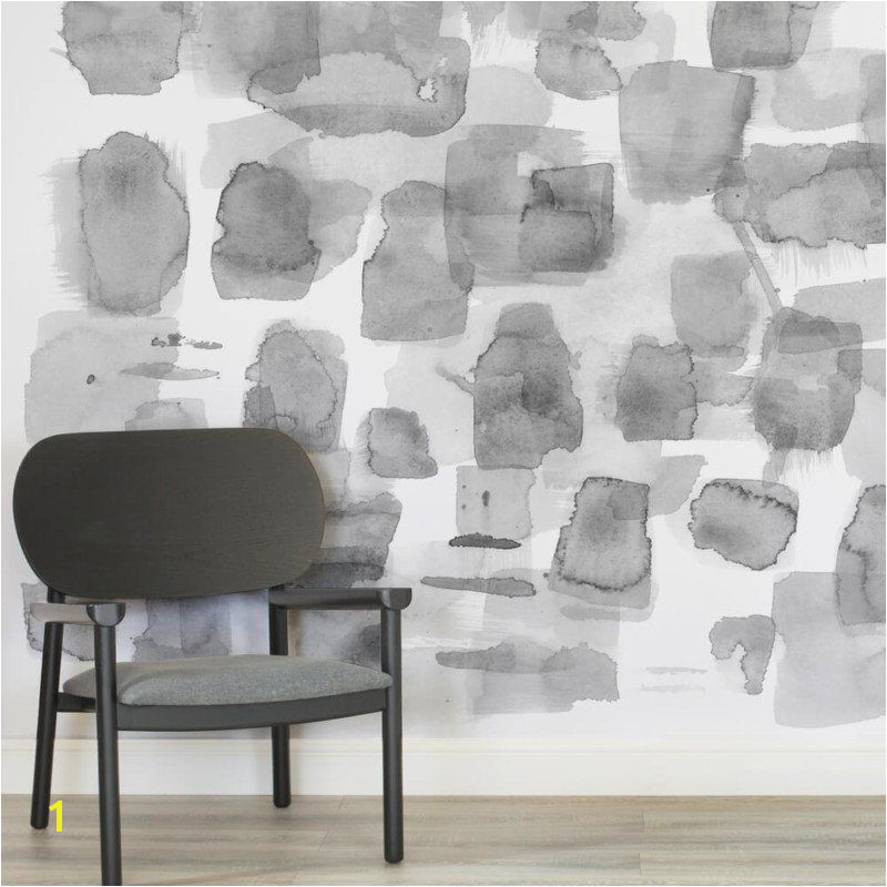 Abstract Wall Mural Designs Louise Body Abstract Grey Square Wall Mural