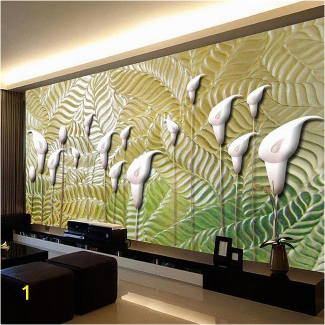 Modern Abstract Art Wallpaper 3D Embossed Flowers Wall Murals Wallpapers Living Room Study Classic Home Decor Papel Tapiz