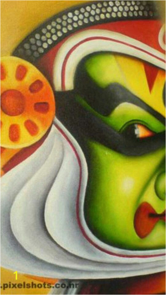 Kathakali Traditional Paintings Contemporary Paintings Traditional Art Kerala Mural Painting Art Desk