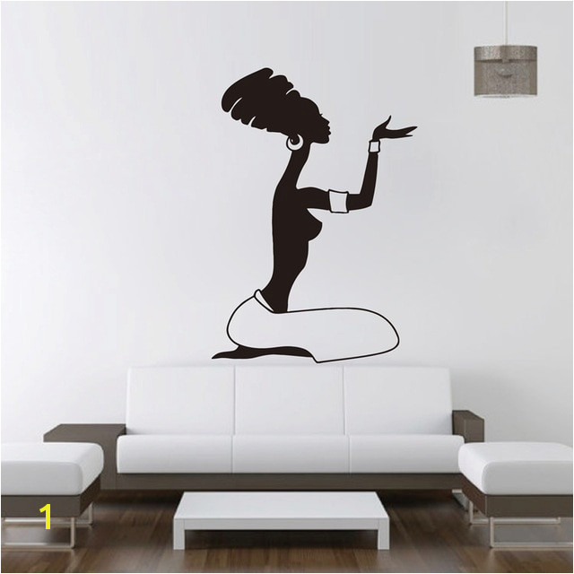 African Women Wall Decal Vinyl Stickers Home Interior Design Africa Decal Murals Wall Art Decor