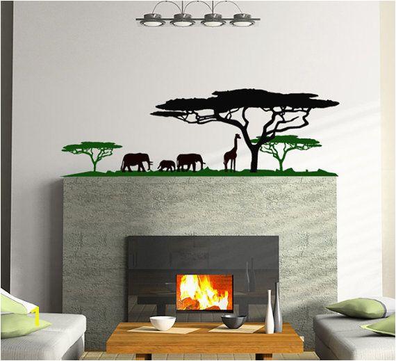 Africa Landscape vinyl sticker
