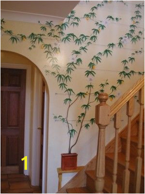 Airbrushed Murals On Walls Staircase Murals