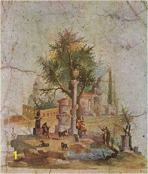 Ancient Greek Wall Murals Art In Ancient Rome Crystalinks