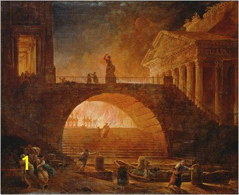 Ancient Roman Murals Emperor Nero Painting Google Search