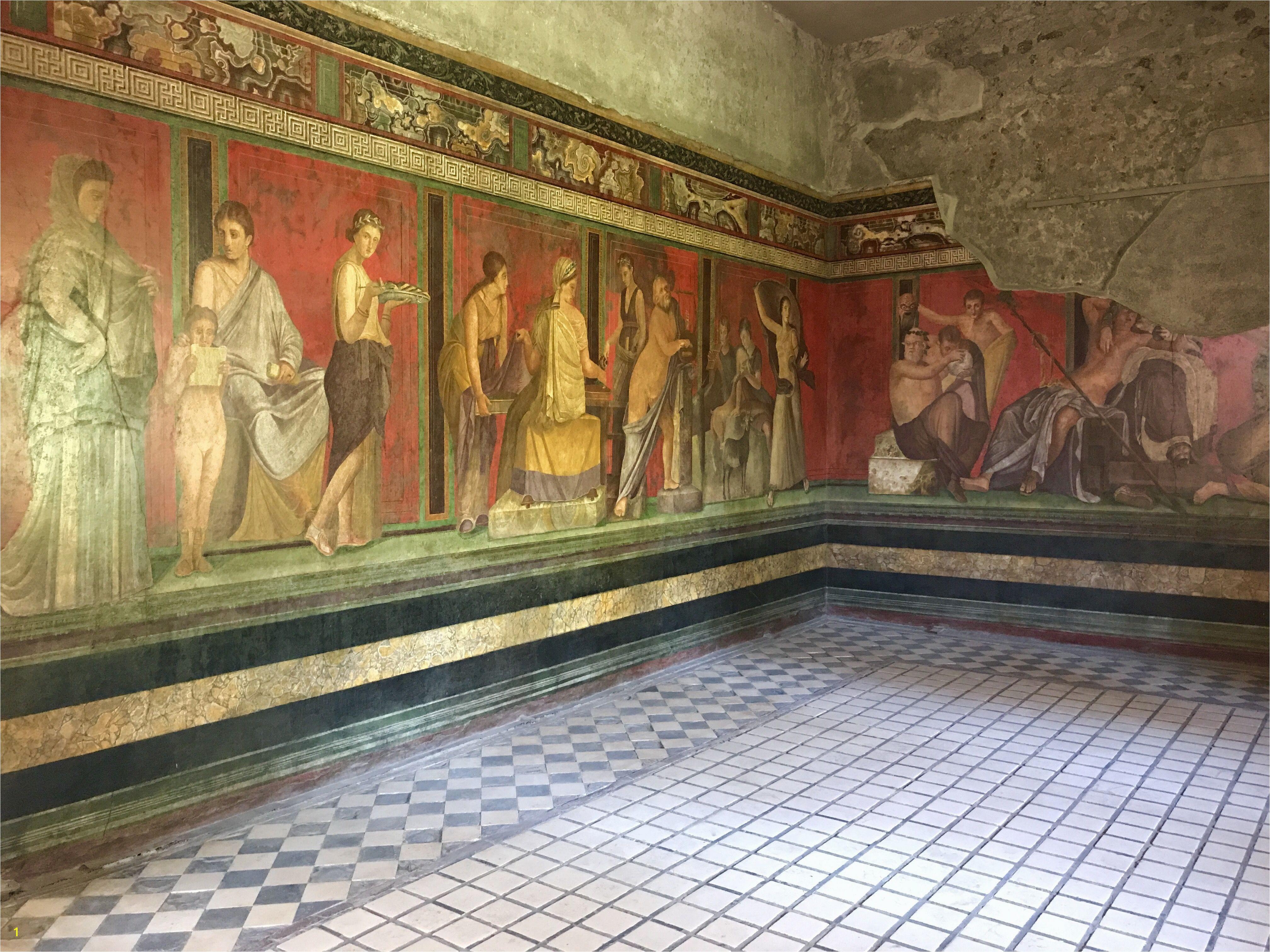 Ancient Roman Murals Pompeii Villa Dei Misteri the Series Of Frescoes Depicted Here are