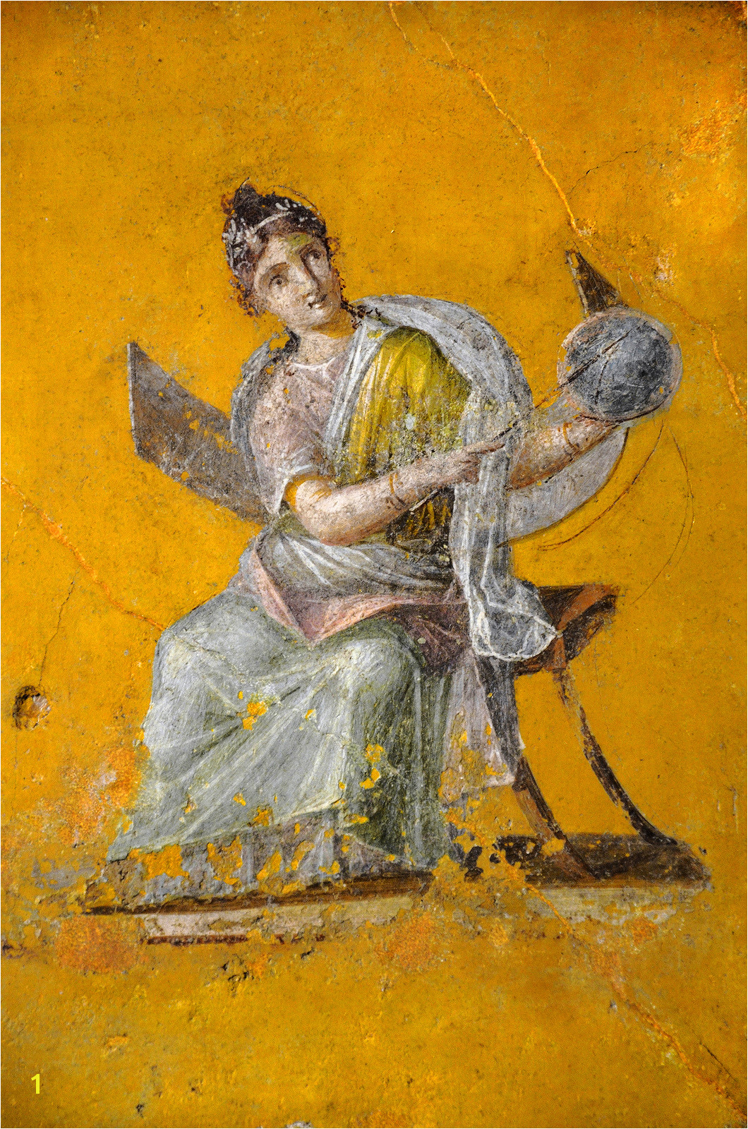 Ancient Roman Murals Reality Show 1989 — Avvoltoio Roman Frescoes solid Colors 1 the