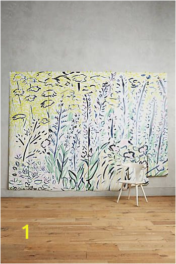 Petaled Meadow Mural Anthropologie Sale Kitchen Stickers Room Wall Decor Bohemian House