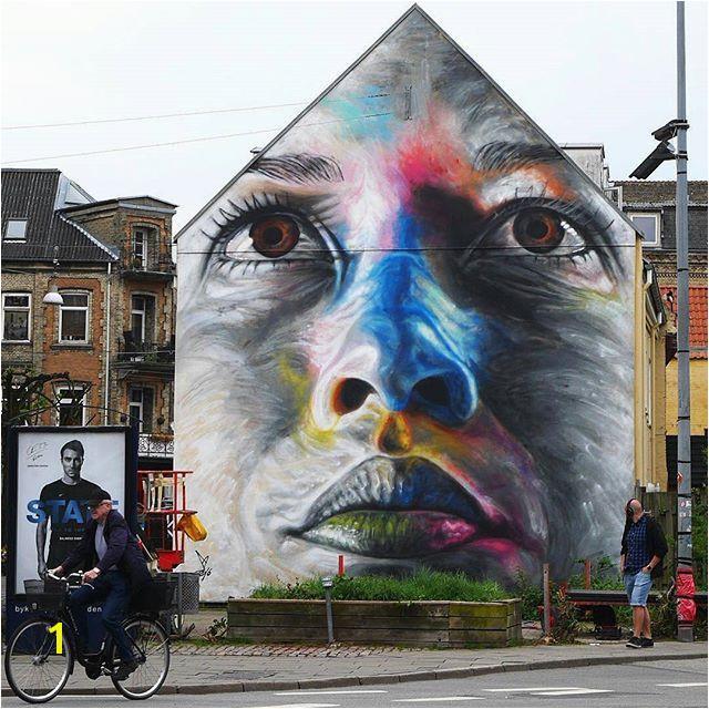 Freehand spray paint mural by artist artofdavidwalker supportart support… More