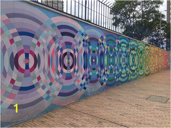The Original Bogota Graffiti Tour This is painted with anti graffiti paint that keeps
