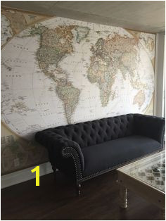 Old World Map Wall Mural