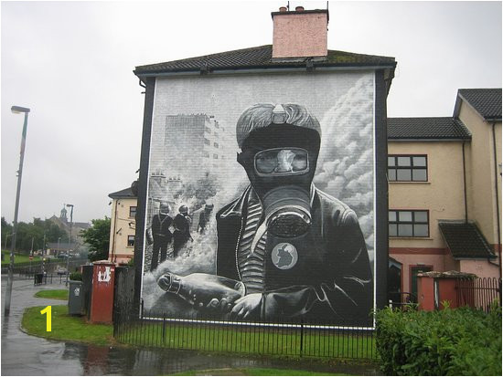 Bogside History Tours Wall mural Derry