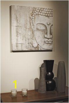 White buddha 2 4eccdde63ad71 Buddha Home Decor Buddha Canvas 3d Wall Wall Canvas