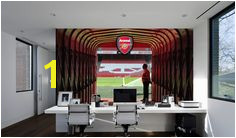 The ficial Home of Football Wall Stickers Arsenal Bedroom Football Gifts