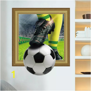 Football Bar Restaurant Wall Decoration Sticker Sticky Bedroom Stickers