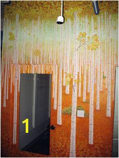 Aspen tree murals