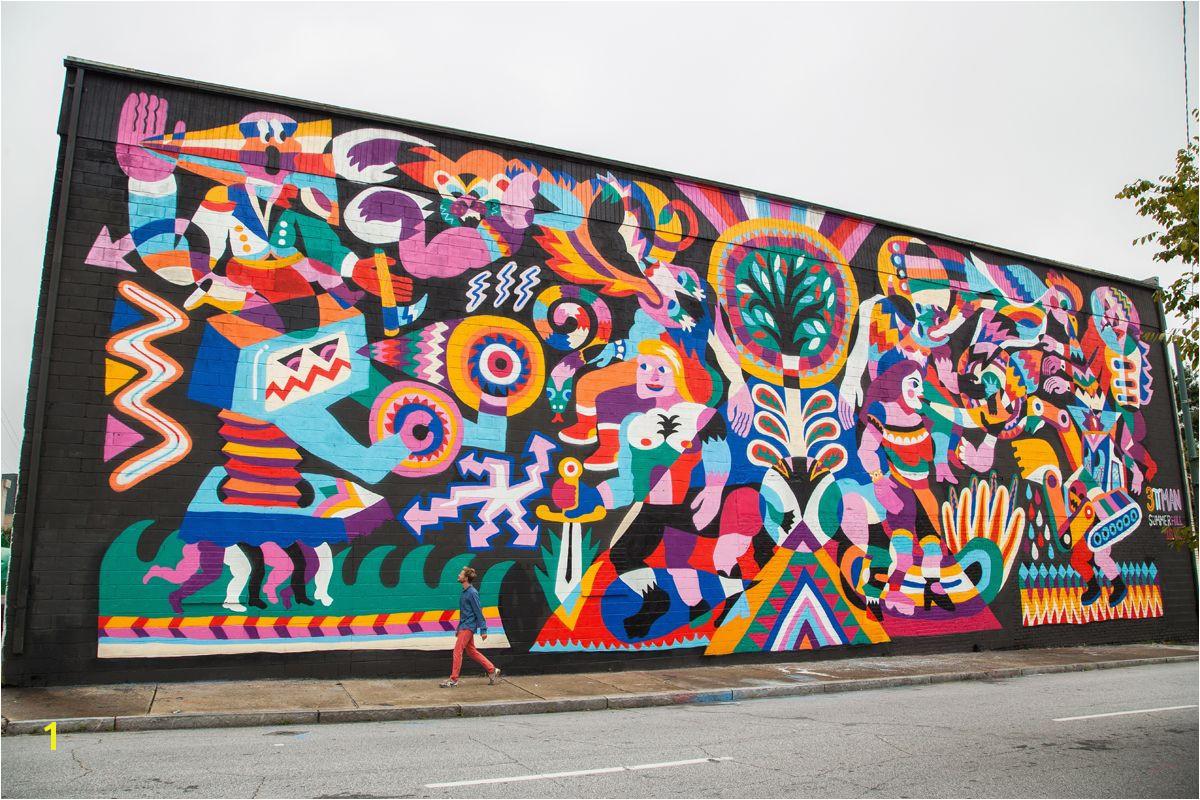 3TTman Atlanta 2013 Living Walls
