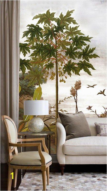 Ananb´ le jardin au papillon Papier peint panoramique Gorgeous