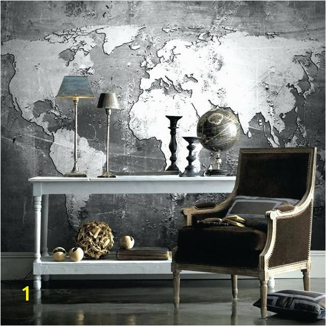 world map wallpaper mural customized size high quality world map wall mural for office study living room retro black world map wall mural australia