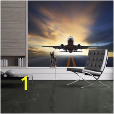 Details about Aeroplane Wall Mural Airplane Transport Wallpaper Travel Boys Home Decor
