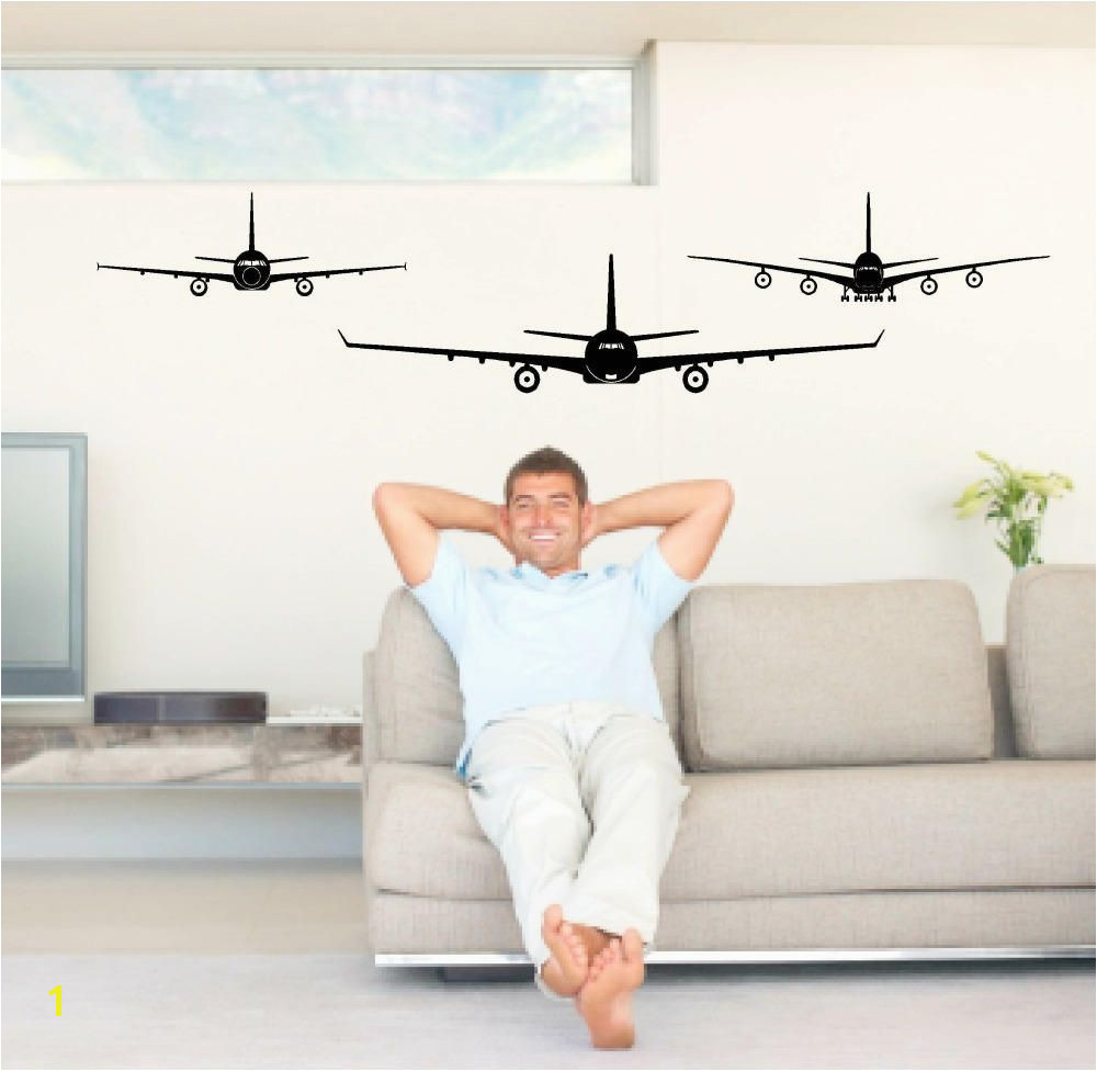 Aircraft wall decals airplane decals jet decal aircraft decor boys room decor man cave decor jet plane decals teen boys room decor by Popitay on Etsy