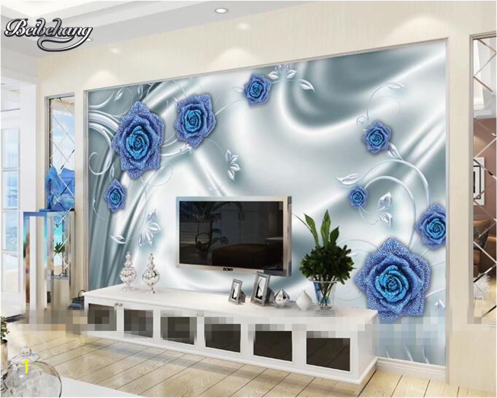 Backlit Wall Murals Beibehang Custom Wallpaper Murals Rose Bubble Silk Wallpaper Living