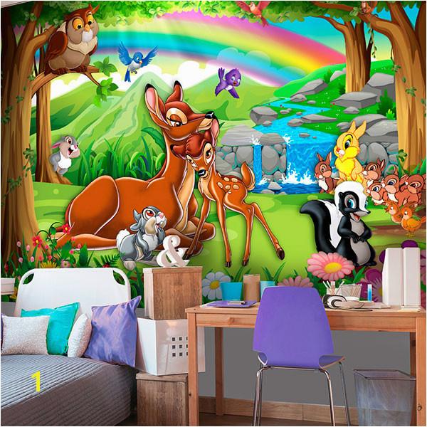 Wall Murals Bambi en el bosque